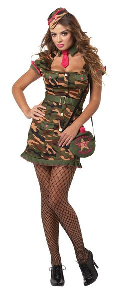 f90274424bb0 California Costumes Eye Candy Private First Class Costume Dress