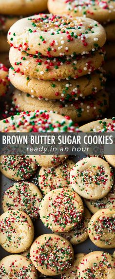 want to add more flavor to your sugar cookies make brown butter sugar cookies instead