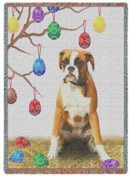 Boxer Easter Woven Throw Blanket 50 x 60 by Doggie of the Day, http://www.amazon.com/dp/B004RV0IXC/ref=cm_sw_r_pi_dp_x3iorb0386DYZ