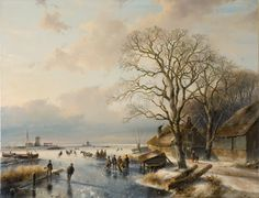 http://upload.wikimedia.org/wikipedia/commons/d/db/Winter_landscape,_by_Andreas_Schelfhout.jpg