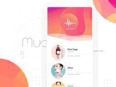 Music Player Inspiration 2017 – Muzli -Design Inspiration