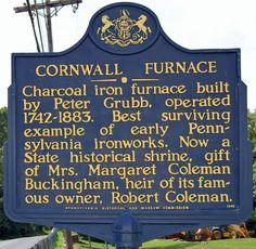 Cornwall Iron Furnace - Lebanon County Pa