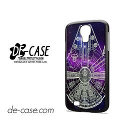 Star Wars Millenium Falcon Blue Sky DEAL-10033 Samsung Phonecase Cover For Samsung Galaxy S4 / S4 Mini