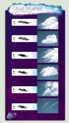 6 Cloud Brushes