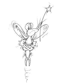 mouse fairy!  Cute!