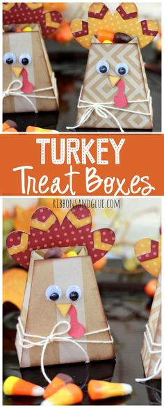 Turkey Treat boxes f