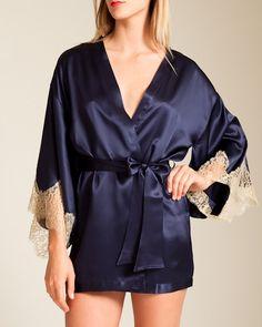 Gilda & Pearl Isadora Silk Kimono via Nancy Meyer