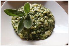 Risotto agli spinaci: rivisitazione della ricetta dei pizzoccheri