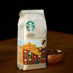 シェイド グロウン メキシコ (2014/12/26〜)◆生態系を守る日陰栽培コーヒー◆ほどよいコクと、鮮やかな酸味にナッツの香り。そしてすがすがしい後味のコーヒーです。 http://www.starbucks.co.jp/beans/seasonal/4524785083509/