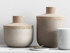 Use them in the kitchen, office, bathroom or even your tool house and the versatile Storage Stone Jars will blend in any kind of environment.