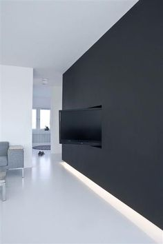 Hide tv in living room