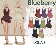 Blueberry Angie Mesh Side Tied Dresses | Flickr - Photo Sharing!