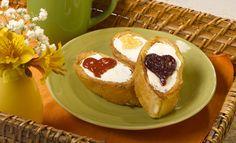 PRONACA RECETA: Tostadas francesas con queso crema