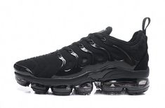 4ad2a33d6fc4d Nike TN Air Vapormax Plus Mens Womens Running Sneakers Shoes Trainers Black   fashion  clothing