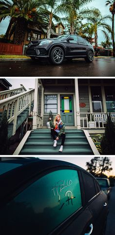 A roadtrip to Venice, California in the Mercedes-Benz GLE. Photos by André Josselin. #VisitCalifornia #AboutHiraeth