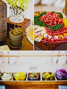 Rustic Owl-Inspired Baby Shower {Part // Hostess with the Mostess® All the necessary ingredients to throw a casual luncheon Antipasto, Sandwich Buffet, Sandwich Spread, 233, Catering Display, Reception Food, Party Platters, Food Stations, Food Displays
