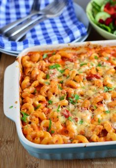 This recipe is gluten free, Slimming World and Weight Watchers friendly Slimming Eats Recipe Extra Easy – 1 HEa per serving Chicken, Bacon and Tomato Pasta Bake Print Serves 4 Author: Slimming Eats Ingredients of penne or fusilli pasta (can u Chicken And Bacon Pasta Bake, Baked Pasta Recipes, Chicken Recipes, Cooking Recipes, Healthy Recipes, Free Recipes, Best Pasta Bake Recipe, Easy Chicken Pasta Bake, Bacon Tomato Pasta