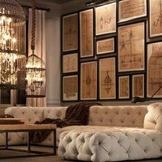 .@johnandrehanoy | Interiør#maison#oldpaper#rustic#interiordesign#ironwork#decor#design#frame#sy...