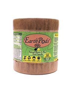 Easily feed natural minerals, nutrients & growth hormones to your plants and flowers with 1 second of work! NO dirty hands, measuring, scooping or stress with our EarthPods Organic Flower & Plant Food Fertilizer capsules (1 tube contains 100 capsules that break down in minutes after applying - enough to feed 100 plants) #gardening #fertilizer