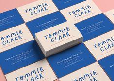 Tommie Clark - Imogen Grist Portfolio - The Loop Brand Identity Design, Corporate Design, Graphic Design Typography, Branding Design, Self Branding, Business Branding, Logo Branding, Lightroom, Photoshop