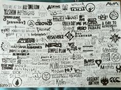 Comment the bands you like!  *All Time Low *Paramore *Panic! At The Disco *Sum 41 *Bowling For Soup *Sick Puppies *Seether *The Red Jumpsuit Apparatus *Yellowcard *Pierce The Veil *Switchfoot *Fireflight *30 Seconds To Mars *VersaEmerge *Muse *Simple Plan *Good Charlot *Theory of a Deadman *Shinedown *Falling In Reverse *Three Days Grace *Sleeping With Sirens *Evanescence *Atreyu *Green Day *Rise Against *Misfits *Eyes Set To Kill