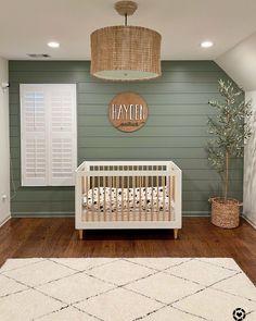 Nursery Paint Colors, Boys Bedroom Paint, Green Paint Colors, Baby Bedroom, Baby Boy Rooms, Baby Boy Nurseries, Baby Room Decor, Nursery Room, Green Baby Rooms