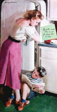 Harry Anderson's Art for Ladies' Home Journal