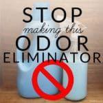 Stop Making This Homemade Odor Eliminator