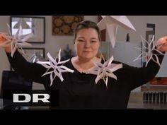 Sådan laver du en papir mobile med Louise | Made in Denmark | DR1 - YouTube
