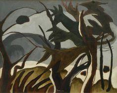BA vorm/ organisch (werk van Arthur Dove, Amerikaans abstract kunstenaar 1880-1946)