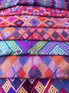 The beauty n colourful tenun buna from Timor island