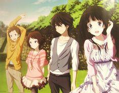Anime, Official Art, Hyouka, Chitanda Eru