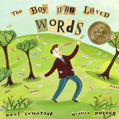 The Boy Who Loved Words by Roni Schotter http://www.amazon.com/dp/0375836012/ref=cm_sw_r_pi_dp_xVGHvb0F0D1FK