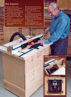 Folding router table plans google search herramientas 2760 ultimate router table plans router greentooth Choice Image