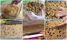 Barritas de Cereales Energéticas sin horno y en 5 minutos | La Cocina de Gisele
