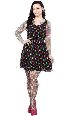 STEADY ELLA SKULL DRESS