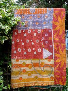 Kantha quilt. Etsy - Fatlama. $126.