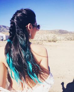 Arden Cho Blue Hair