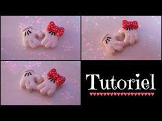 [TUTO Fimo] Mains de Mickey et de Minnie - YouTube Polymer Clay Disney, Polymer Clay Figures, Fimo Clay, Polymer Clay Charms, Polymer Clay Jewelry, Video Fimo, Diy Clay Earrings, Disney Earrings, Clay Art