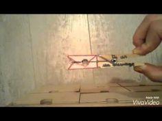 ❤Message sur pince à linge en bois. Pour ceci vous aurez besoin de : d'une paire de ciseaux, d'un tube de colle, d'une pince à linge, d'un feutre rouge,...