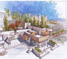 This drawing helps the viewer/designer to understand the context around the building/design.
