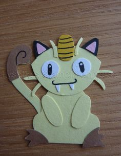 Gotta Craft Them All challenge dag 54: #Meowth https://www.facebook.com/Lysettes.stampin.universe/