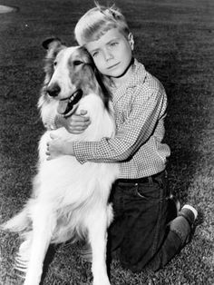 Here we have Timmy and Lassie, he was so cute. Do you remember Jeff, who was in the original Lassie shows boy. Photo Vintage, Vintage Tv, Vintage Candy, My Childhood Memories, Sweet Memories, School Memories, Nostalgia, Sean Leonard, Old Shows