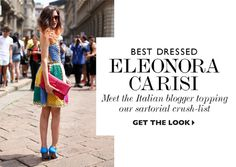 Best Dressed Eleonora Carisi