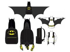 These Batman And Wonder Woman Costume Backpacks Are Going To Be Amazing