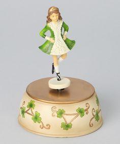 Take a look at this Irish Musical Dancer Figurine by Roman, Inc.