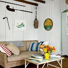 8 Steps to New England Cottage Style | 1. Pay Homage to the Past | CoastalLiving.com