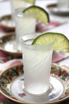 Kamikaze Cocktail or Shot: simple syrup, fresh lime juice, vodka, and triple sec