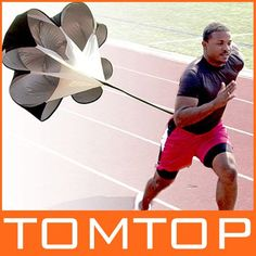 """56"""" Speed Resistance Training Parachute for Running or Sports Training"""