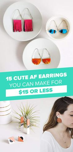 15 Trendy Earrings That You Can Make Instead Of Buy